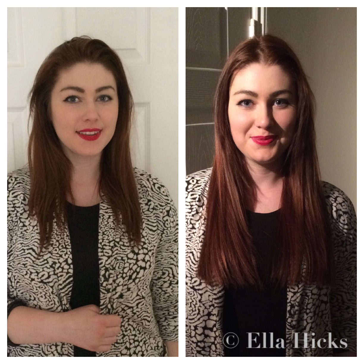 Ella hicks hair extensions portfolio 16 natural hair extensions front pmusecretfo Image collections