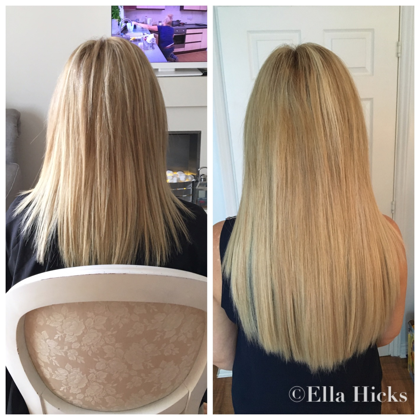 Mixed Blonde Hair Extensions Human Hair Extensions
