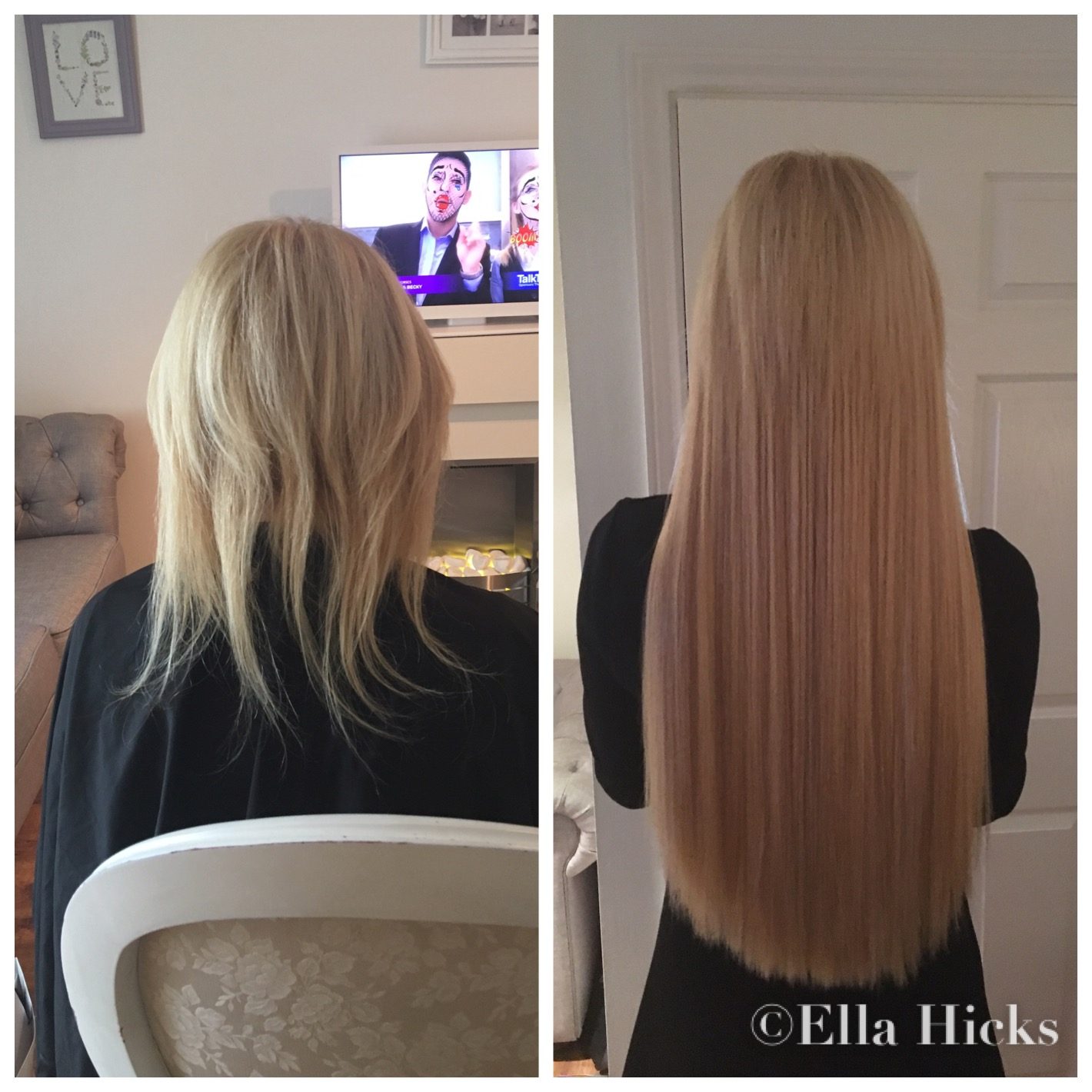 Ella Hicks Hair Extensions Portfolio