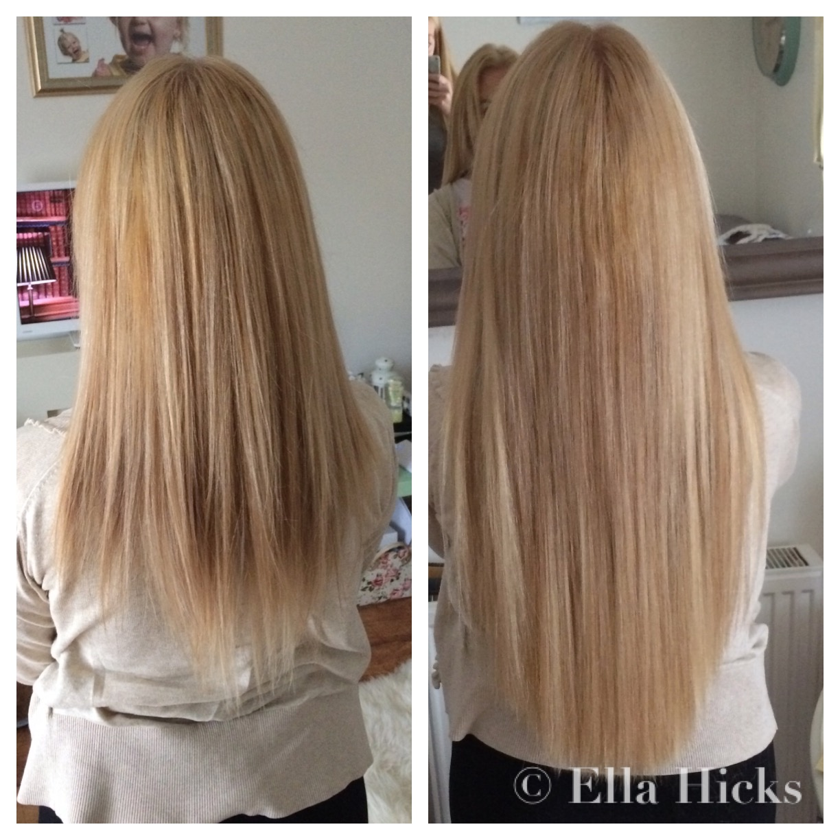 Ella hicks hair extensions portfolio long blonde micro ring hair extensions to add thickness pmusecretfo Images
