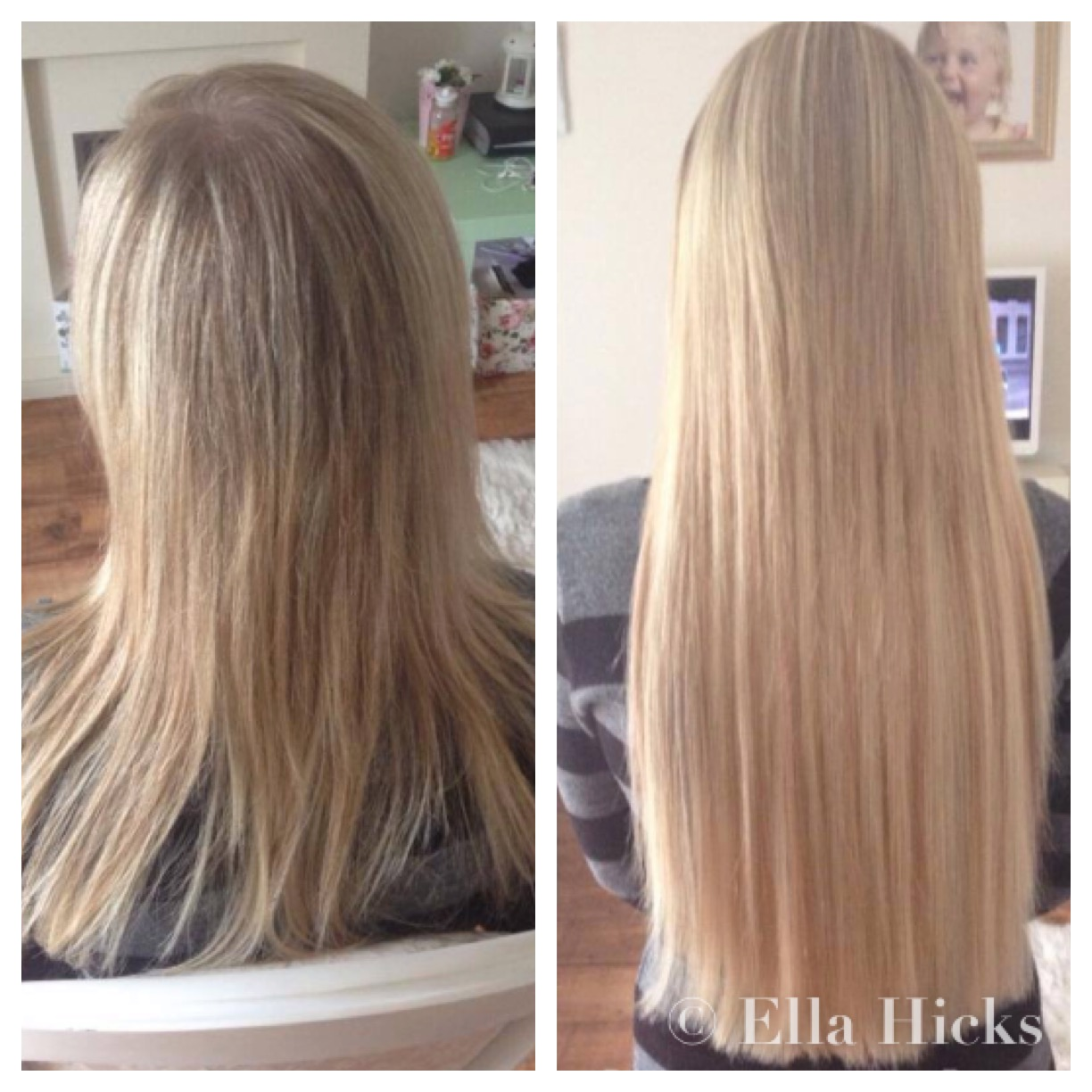 Ella hicks hair extensions portfolio long blonde micro ring hair extensions pmusecretfo Images