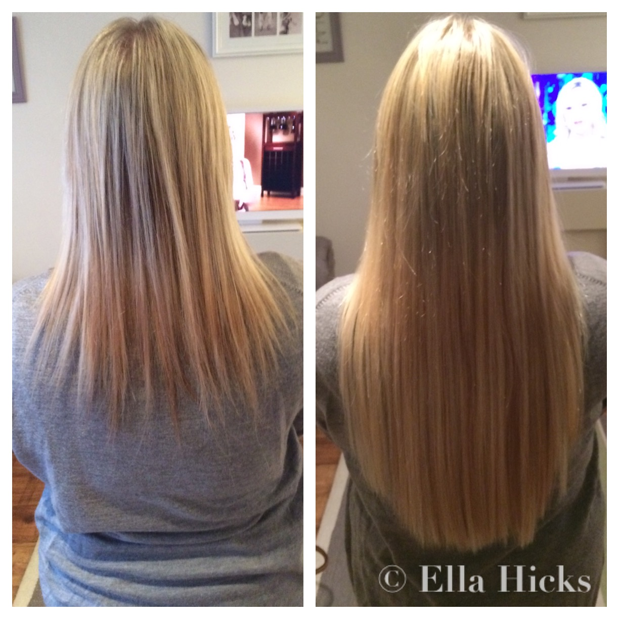 Ella hicks hair extensions portfolio long mixed blonde micro ring extensions pmusecretfo Images