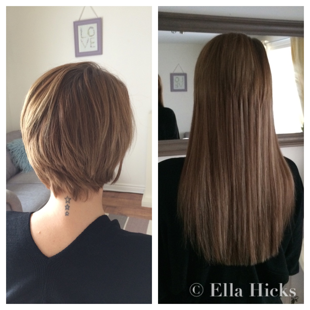 Ella hicks hair extensions portfolio 8 micro ring hair extensions pmusecretfo Images