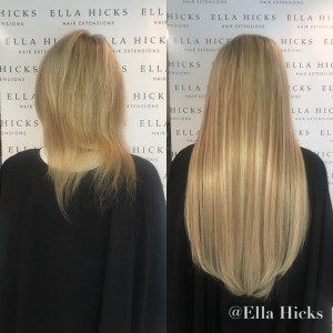 "22"" extra thick mixed blonde"